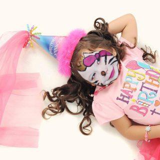 Ansigtsmaling til Børnefødselsdag