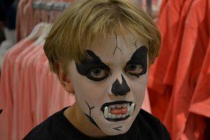 Dødningehoved - Halloween Ansigtsmaling