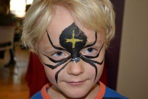 Edderkop - Halloween Ansigtsmaling