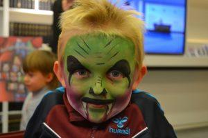 Farlig monster - Halloween Ansigtsmaling