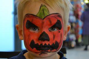 Halloween Ansigtsmaling