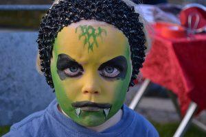 Slange - Halloween Ansigtsmaling