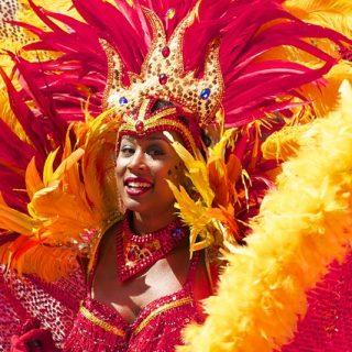 Ansigtsmaling til Karneval