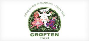 Restaurant Grøften - Tivoli København Logo - Ansigtsmaling