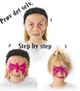 Hvordan laver man ansigtsmaling?