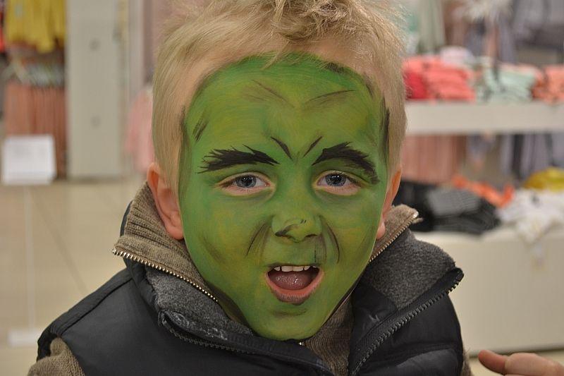 Hulk Ansigtsmaling