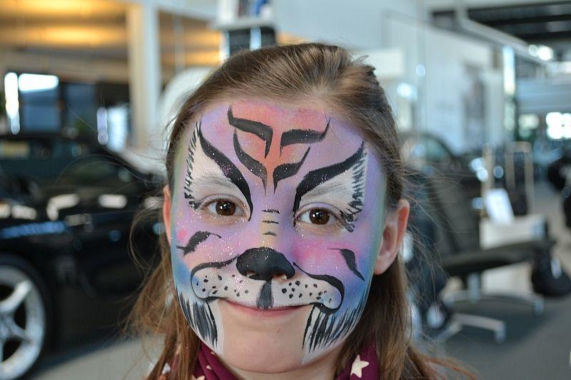 Ansigtsmaler tiger