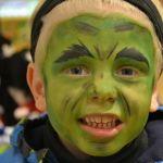 Hulk - Halloween Ansigtsmaling