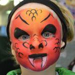 Drage - Halloween Ansigtsmaling