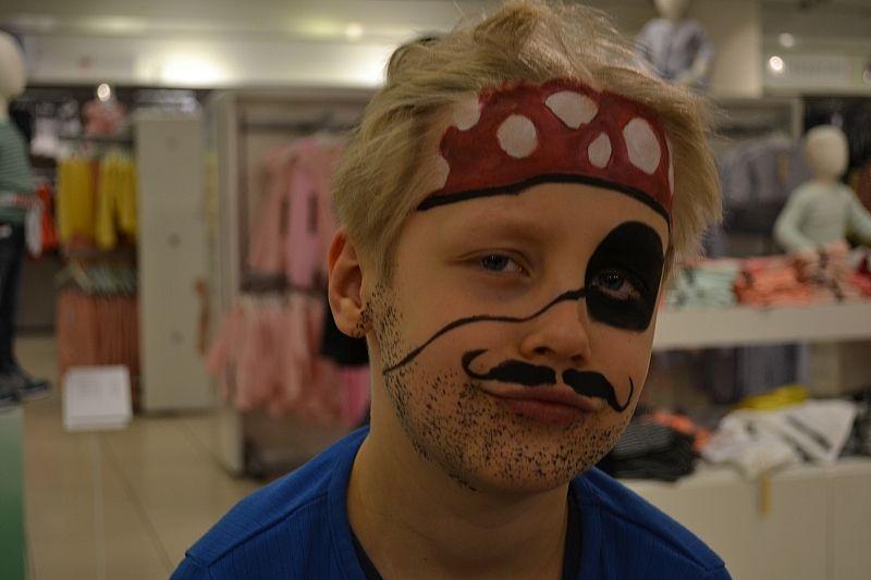 Pirat Ansigtsmaling